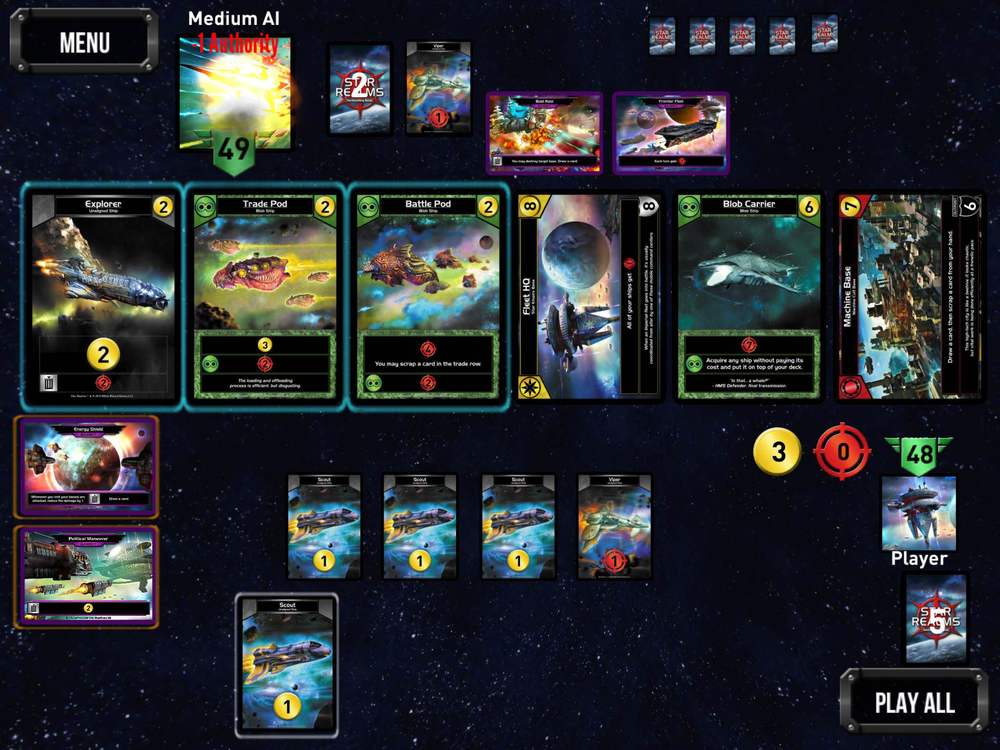 Star Realms Gambit Gameplay