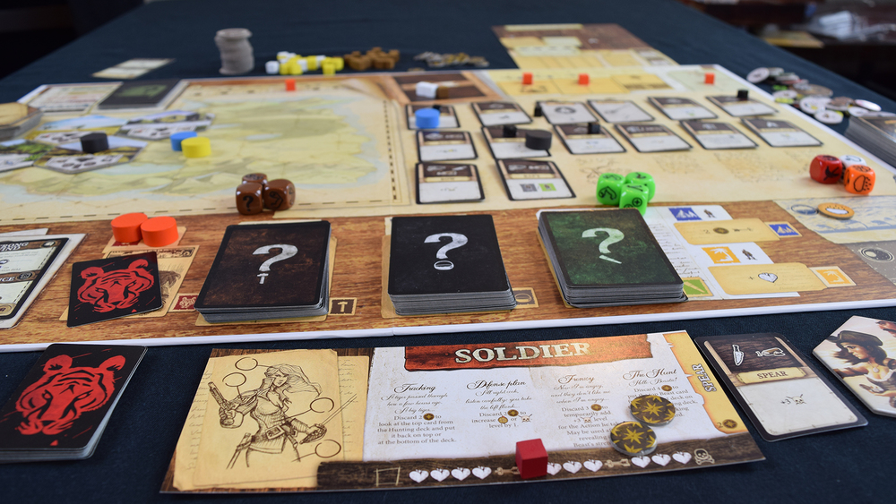 Robinson Crusoe Board Game.