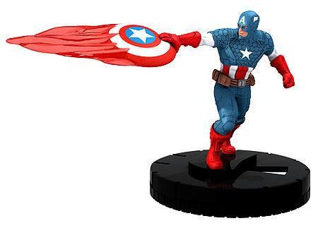 HeroClix Avengers Assemble Captain America