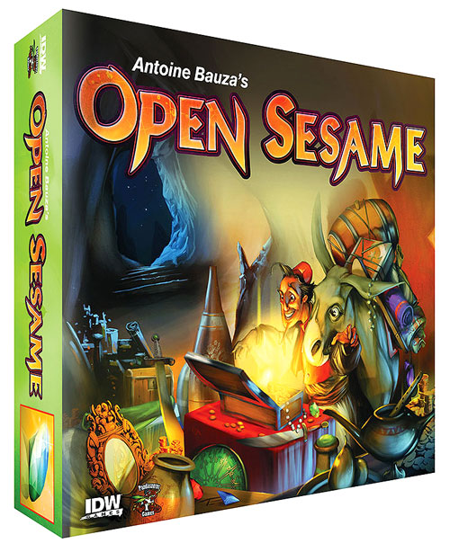 Open Sesame box art.
