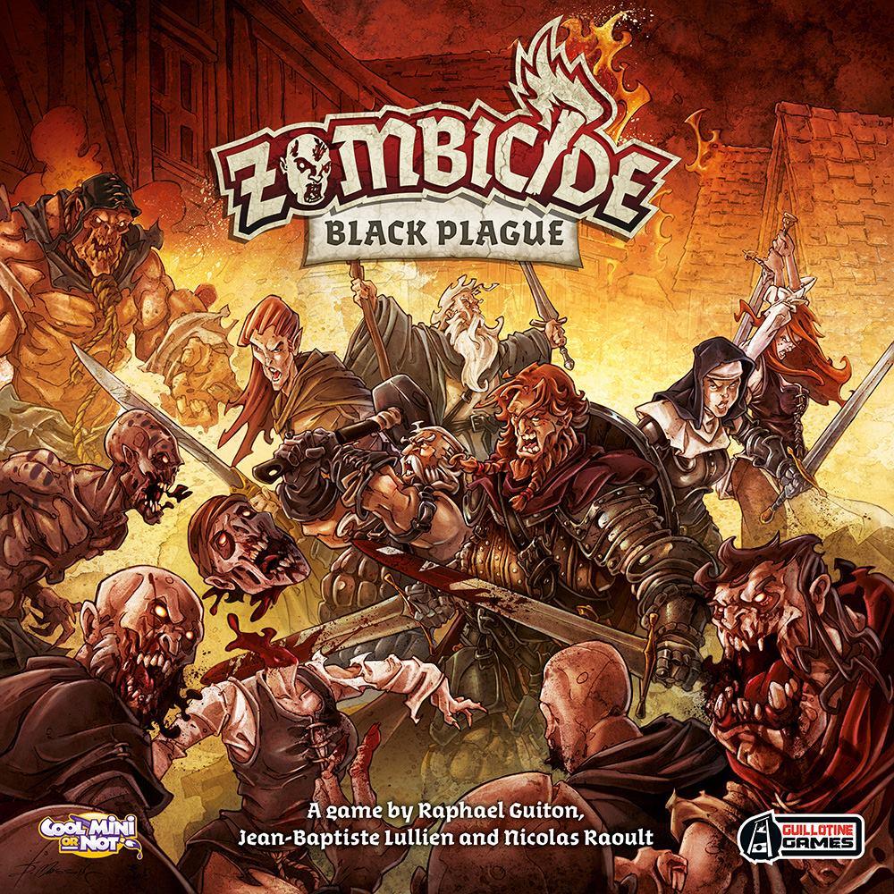 Zombicide: Black Plague Box Cover