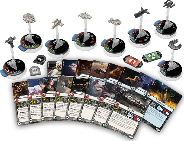 Star Wars Armada Wave II: Rogues and Villains