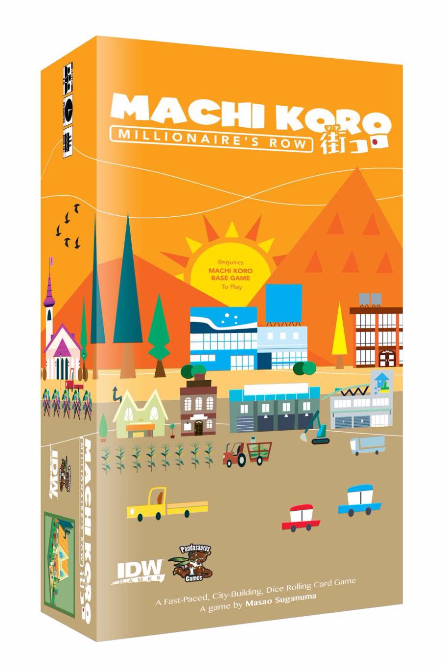 Machi Koro: Millionaire's Row Box Cover