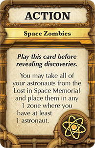 Mission: Red Planet New Action Card