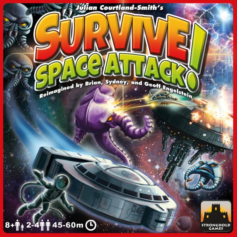 Survive: Space Attack cover
