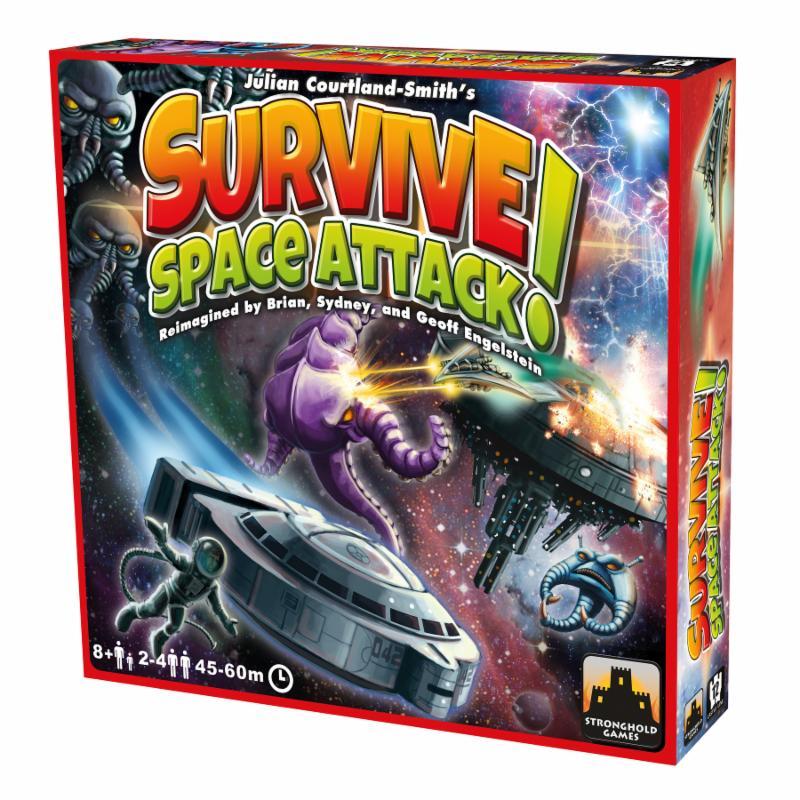 Survive: Space Attack box.