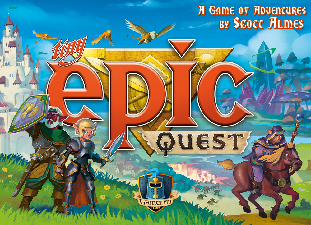 Tiny Epic Quest box art revealed ahead of Gen Con 2016
