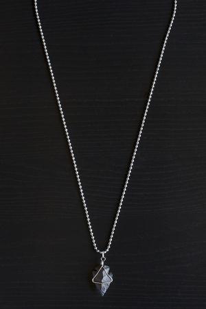 Obsidian arrowhead necklace hannah frost jewelry obsidian arrowhead necklace aloadofball Image collections