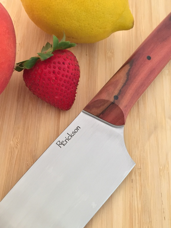 Robert Erickson USA AEB-L chef fitted with Dead Finish handle