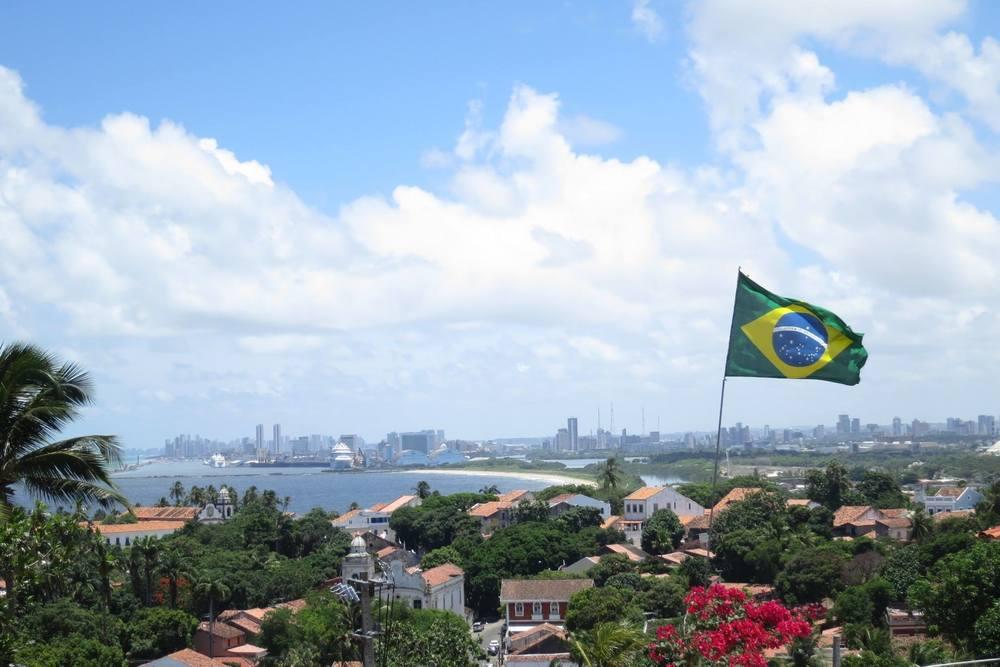 Recife visto desde la ciudad colonial Olinda. Foto: Patricia Alonso