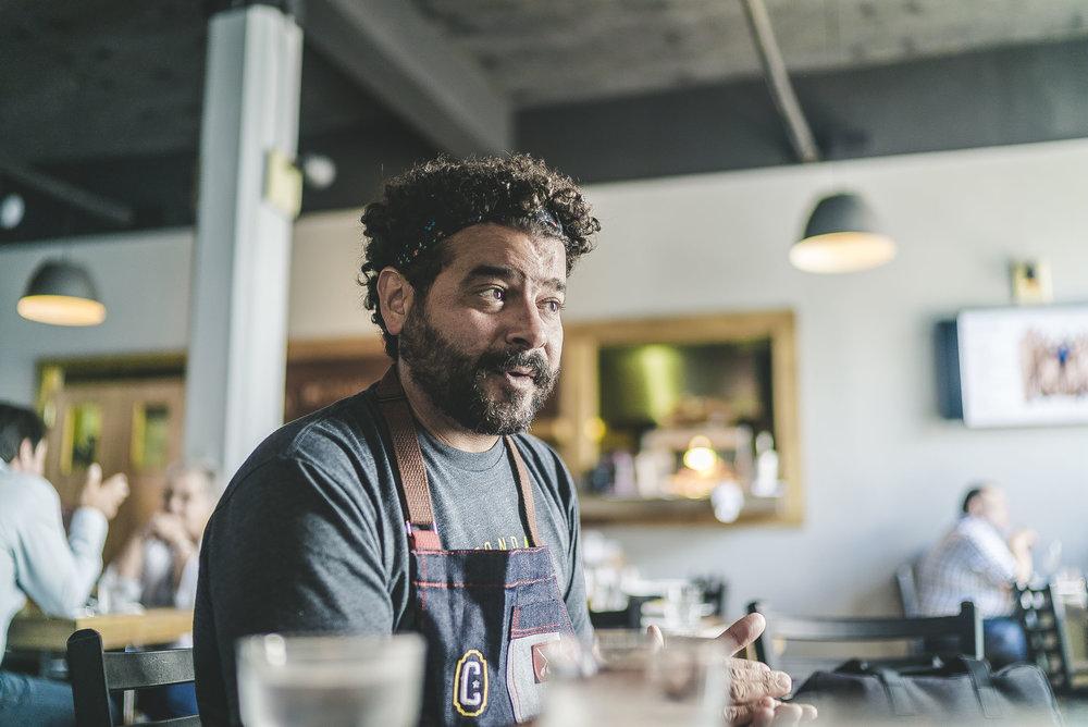 Chef Xavier Pacheco.fotos: Raymesh Cintrón
