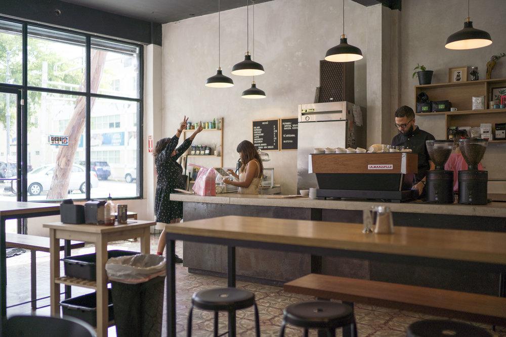 Café Comunión en Santurce; un spot de locales para locales y visitantes.