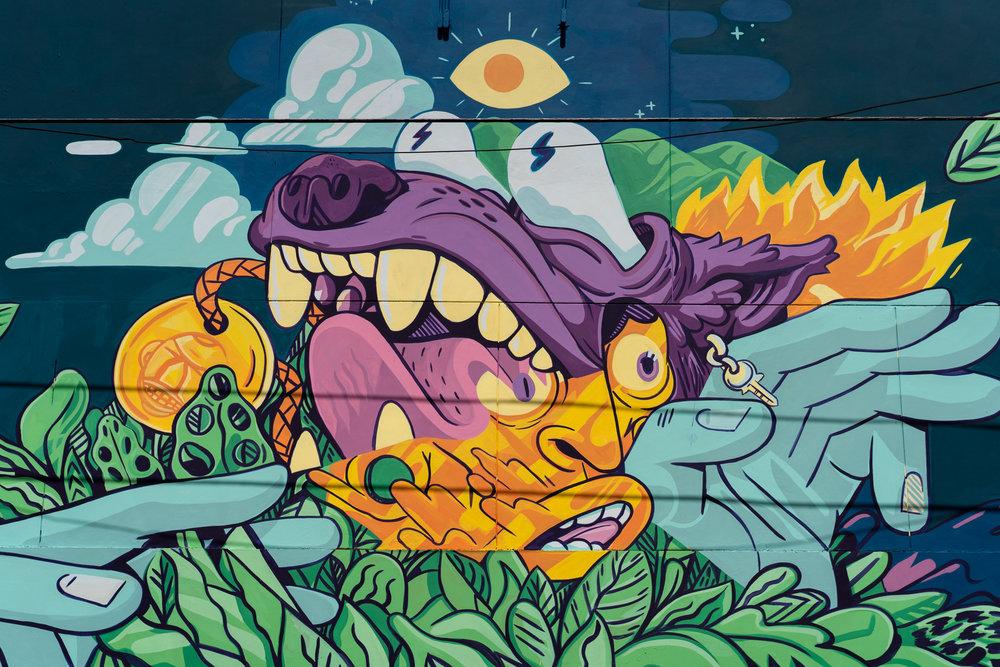 Mural en Humacao Grita