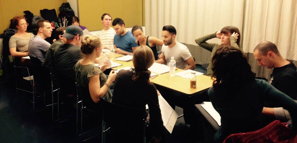 First table read of 'To Damascus'.