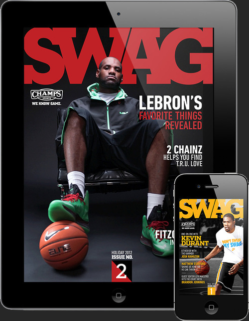 CHAMPS SPORTS | SWAG MAGAZINE