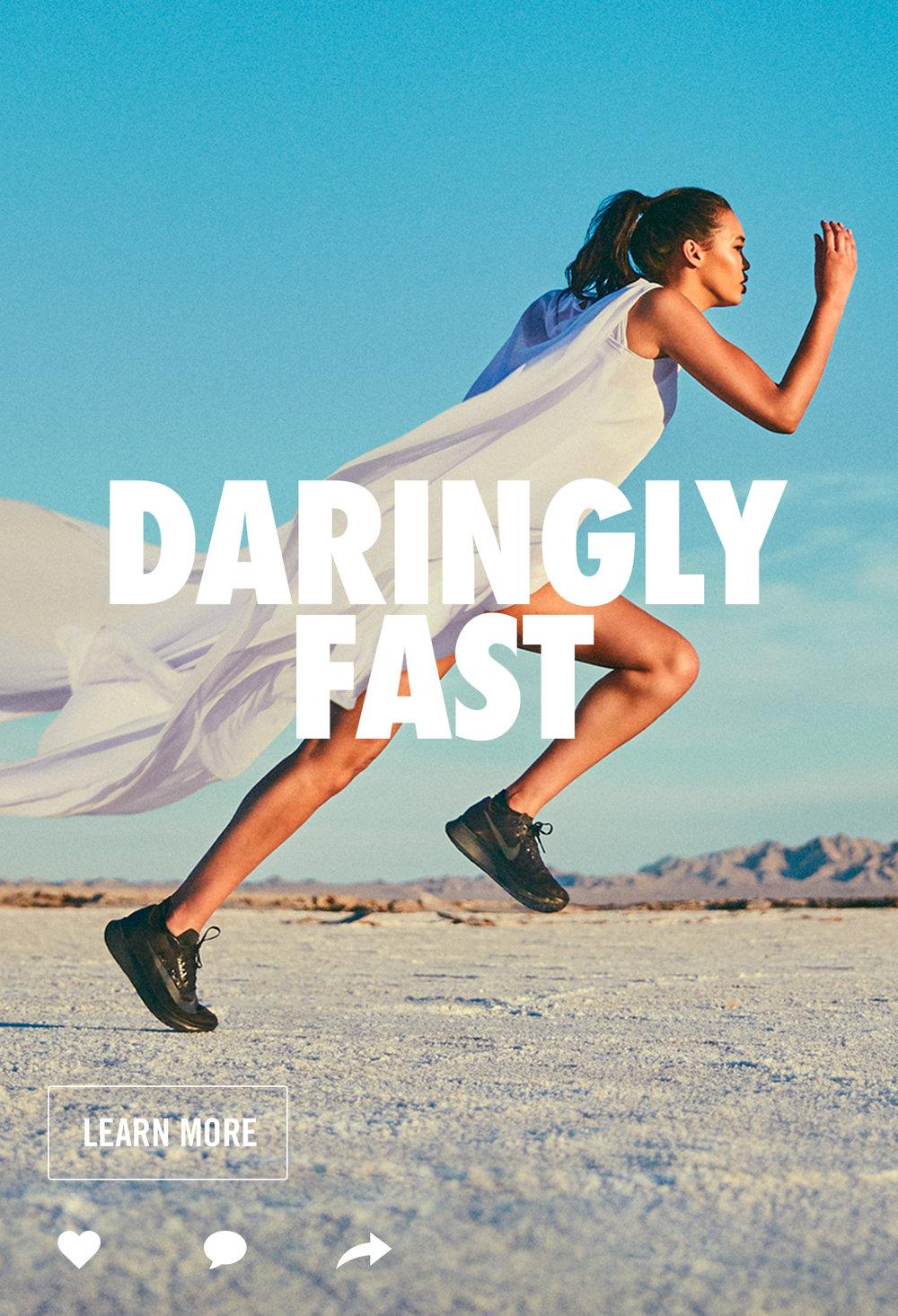 NIKE WOMEN'S RUNNING | DARINGLY FAST
