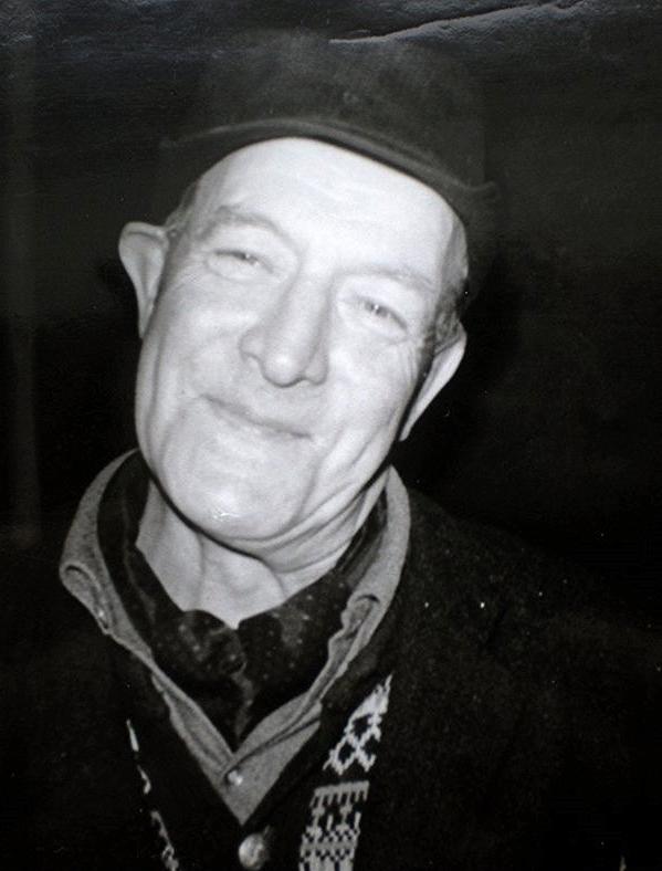 Uteliggeren Trygve Brandt som besøkte Lille Helvete 22.12.69.