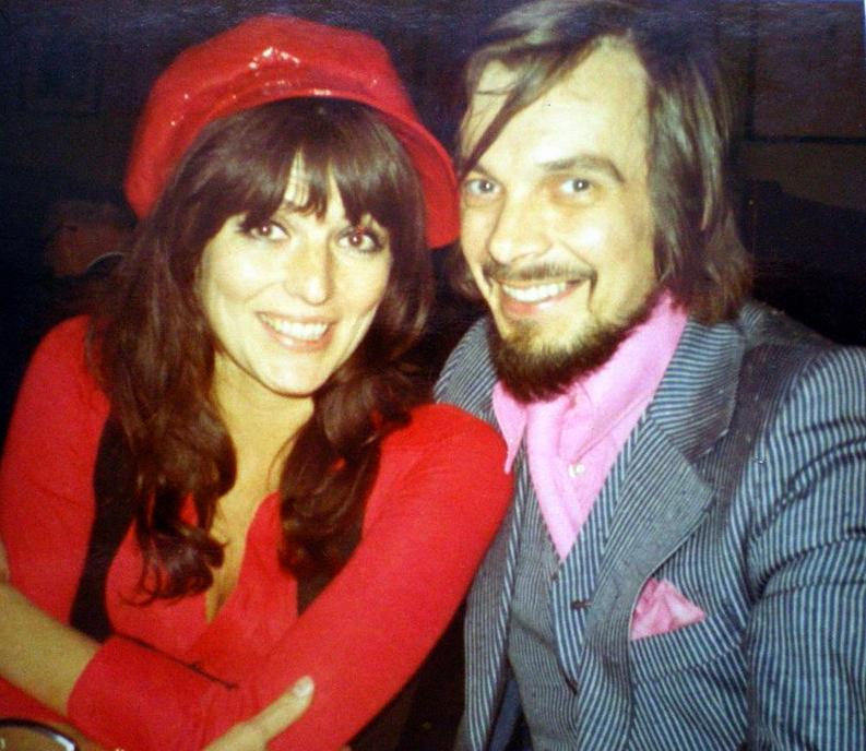 Vibeke og Sten på reise i januar 1970.