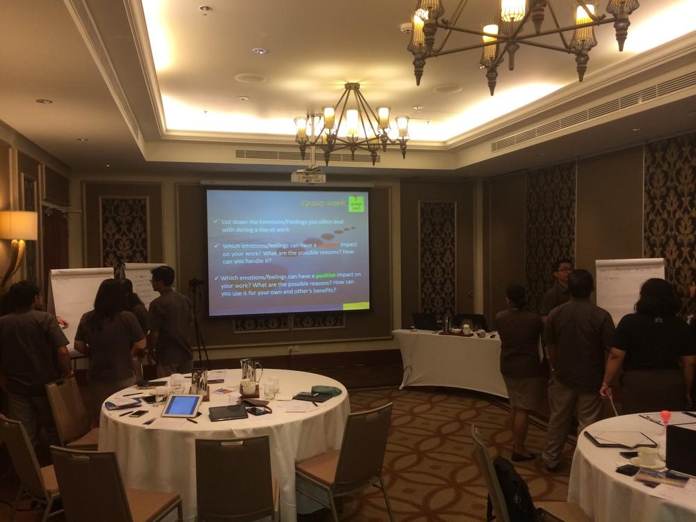 #AVC hospitality #Sales & Marketing training in #Bali