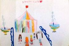 3 место. Литвинова Алиса, 6 лет