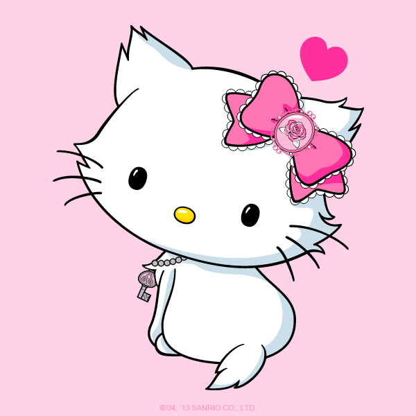 Hello to Charrmy Kitty - Hello Kitty's cat you have never heard of.