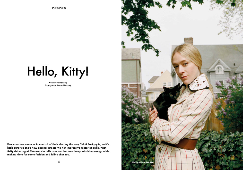 Chloë Sevigny in Puss Puss issue 4