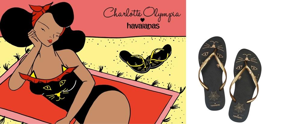 Charlotte Olympia Kitty Havaianas