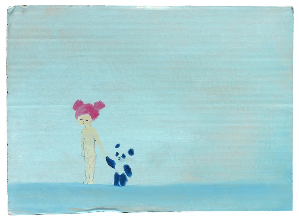 Untitled   2012   oil on cardboard, 25x35 cm