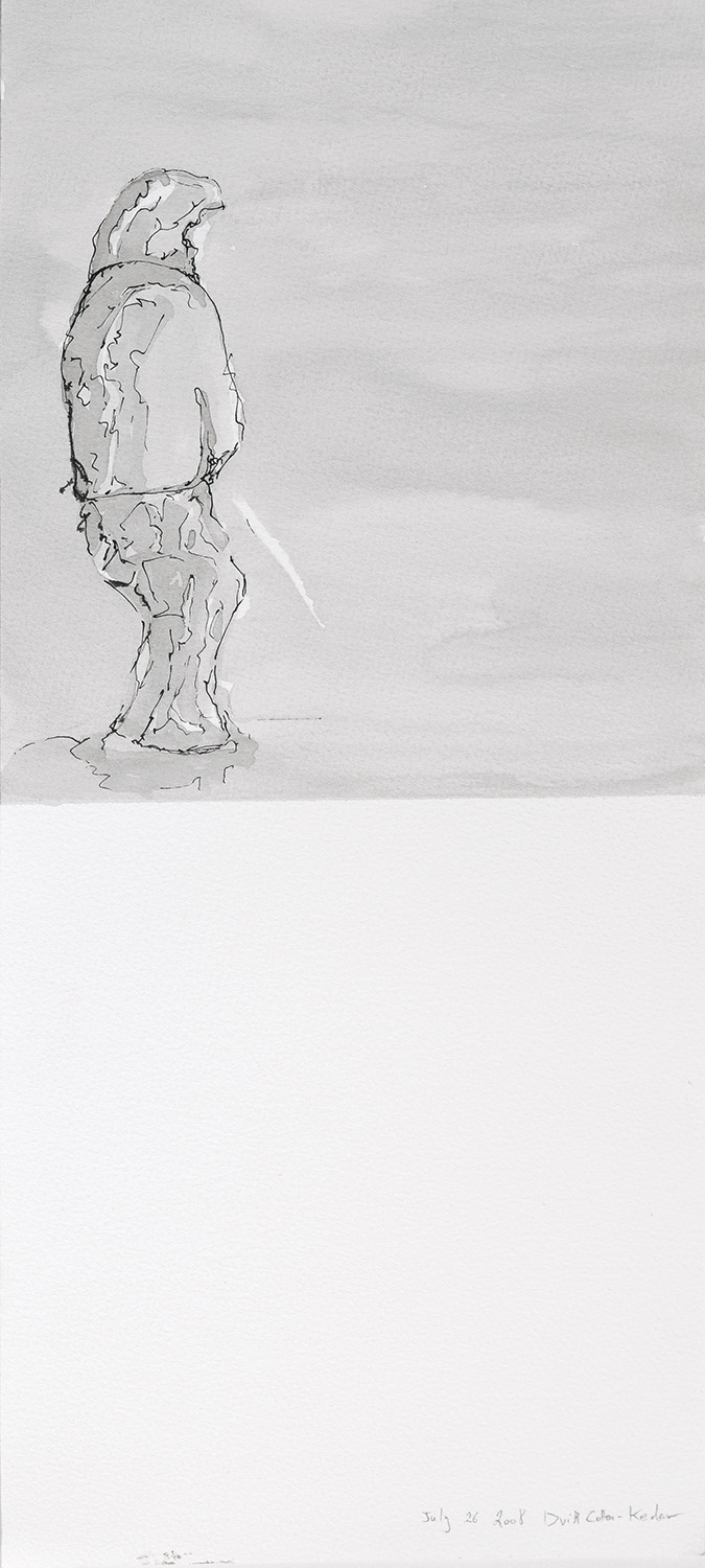 untitled   2009   ink on paper, 40x20 cm
