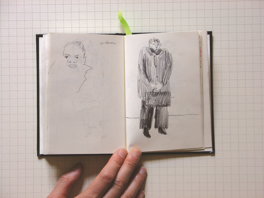 Maureen Valfort Sketchbook 1