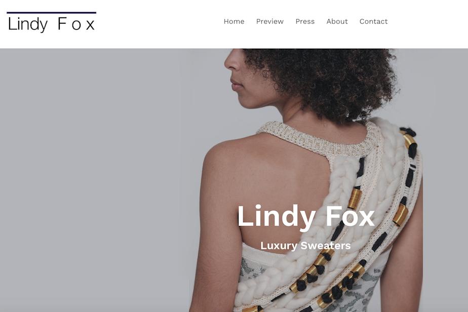 Lindy-Fox-Homepage