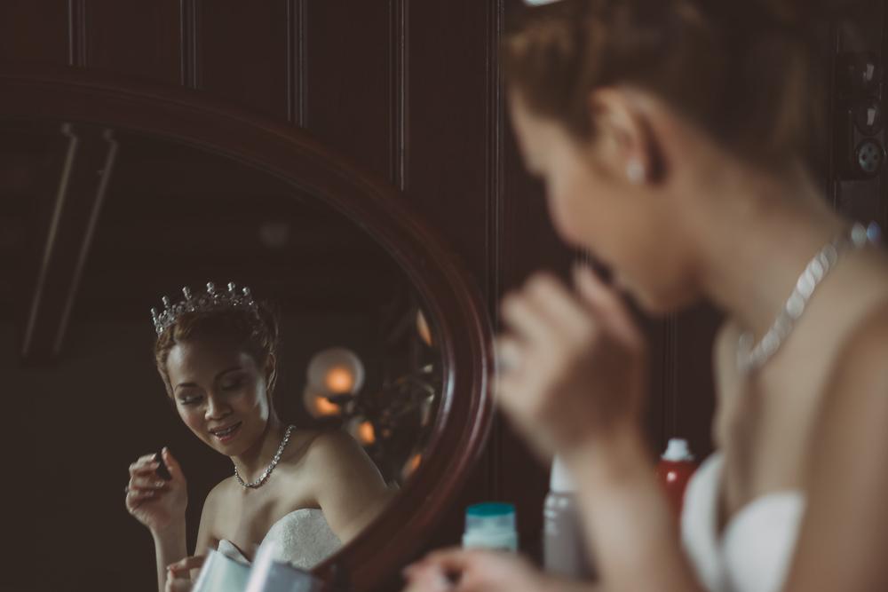 prachtige bruid by bruidsfotograaf mark hadden van amsterdam