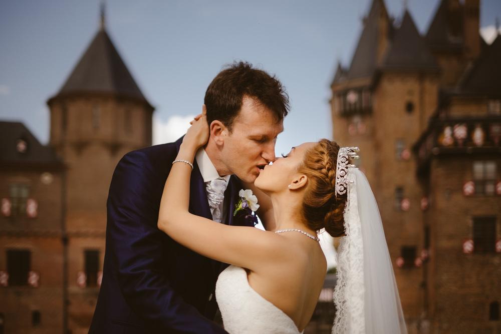 intieme emotionele bruiloft fotografie door Mark Haddon van amsterdam