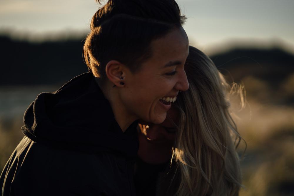 gelach en het geluk van een loveshoot in bloemendaal