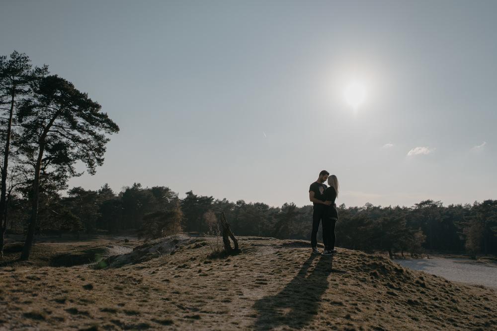 loveshoot in soesterduinen by mark hadden bruidsfotograaf amsterdam