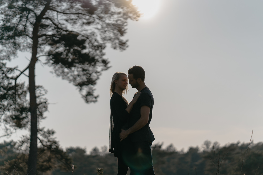 loveshoot in soesterduinen by mark hadden amsterdam wedding photographer
