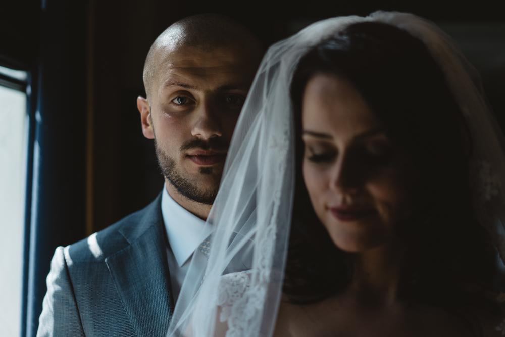 portret van bruiloft fotografie in utrecht amsterdam