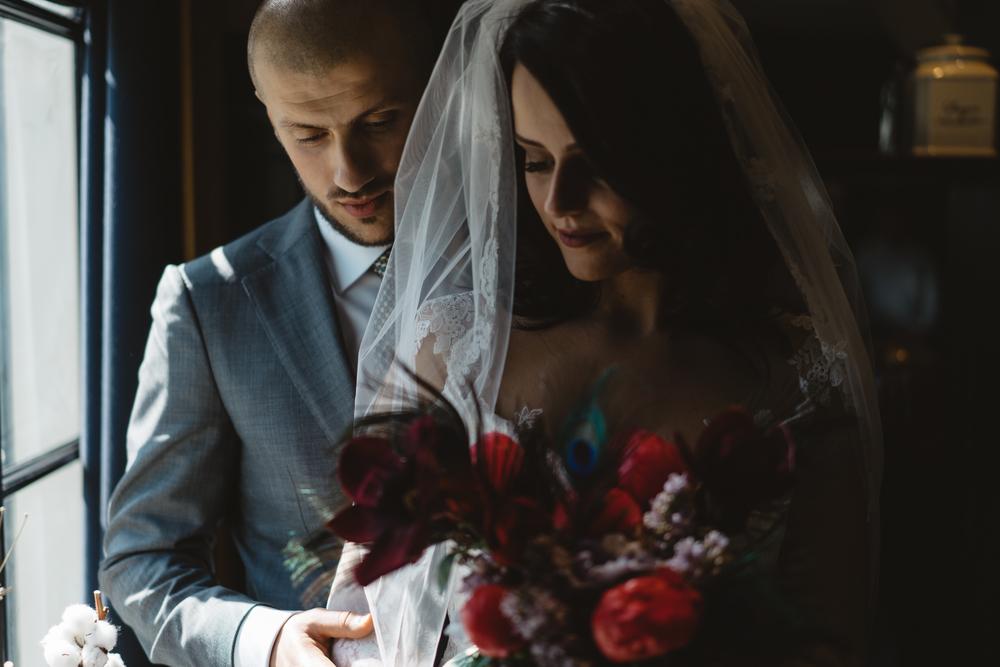 bruidsfotografie amsterdam bruidspaar portret door mark hadden