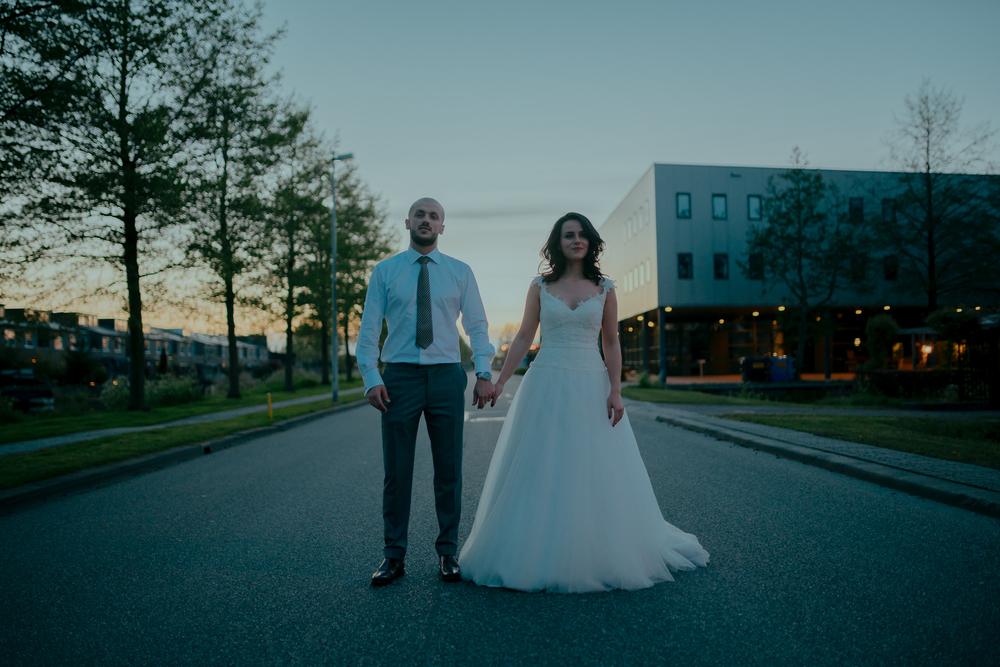 amsterdam bruiloft fotografie bruidspaar portret
