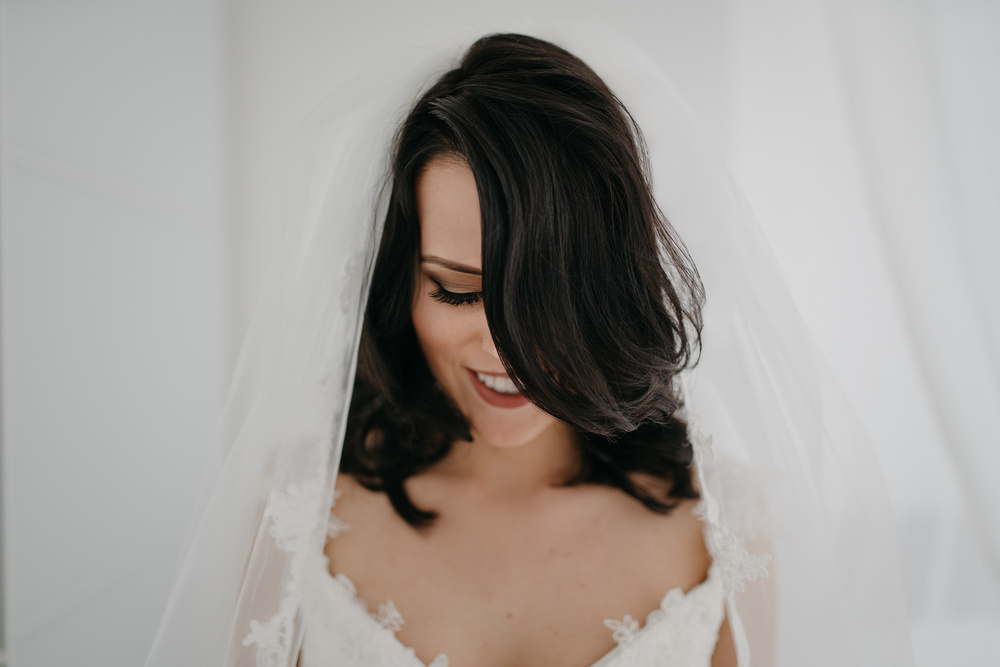 Bridal portrait A7Rii and Sigma 35mm 1.4