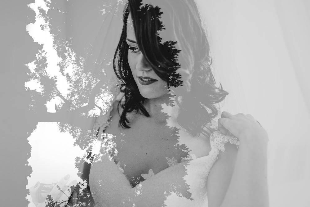bruidsfotografie amsterdam utrecht double exposure dalila tree