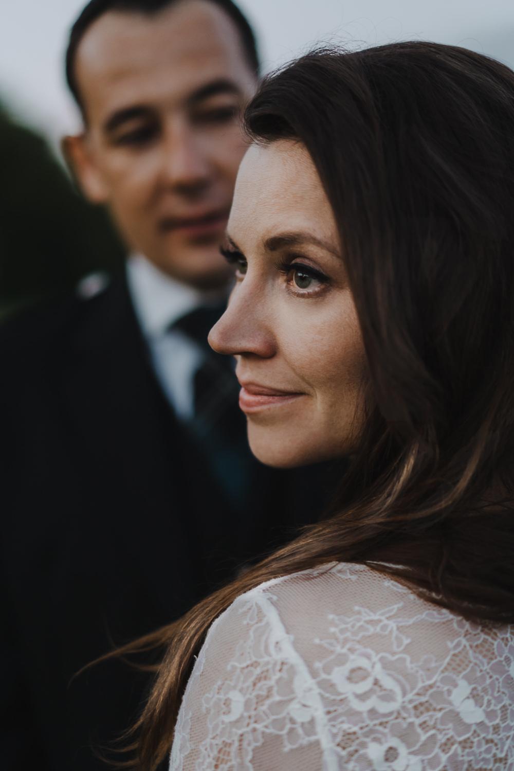 bruidsfotografie amsterdam aberdeen bride portrait