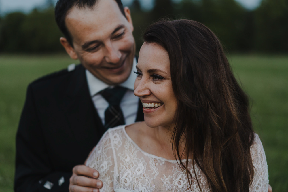 bruidsfotografie amsterdam aberdeen  happy couple