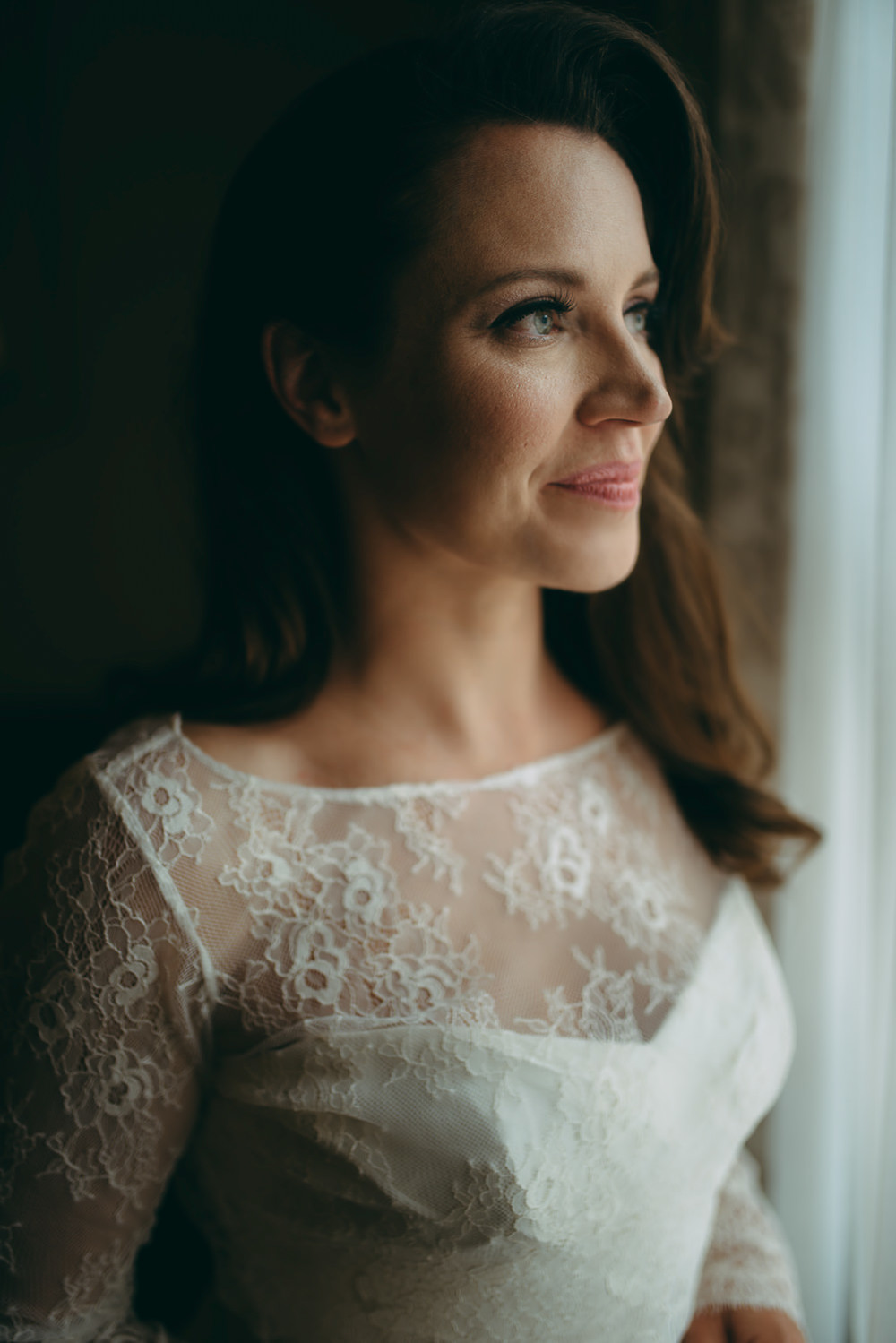 wedding photography aberdeen bridal portrait