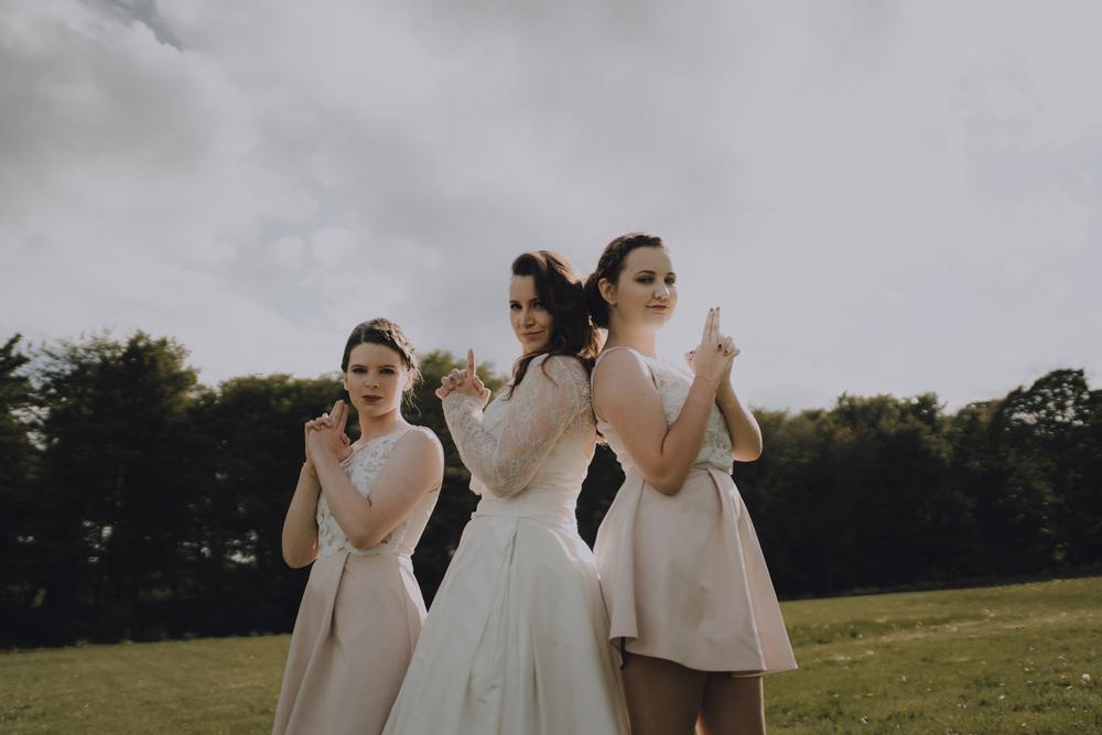 bruidsfotografie amsterdam aberdeen bridesmaids charleys angels
