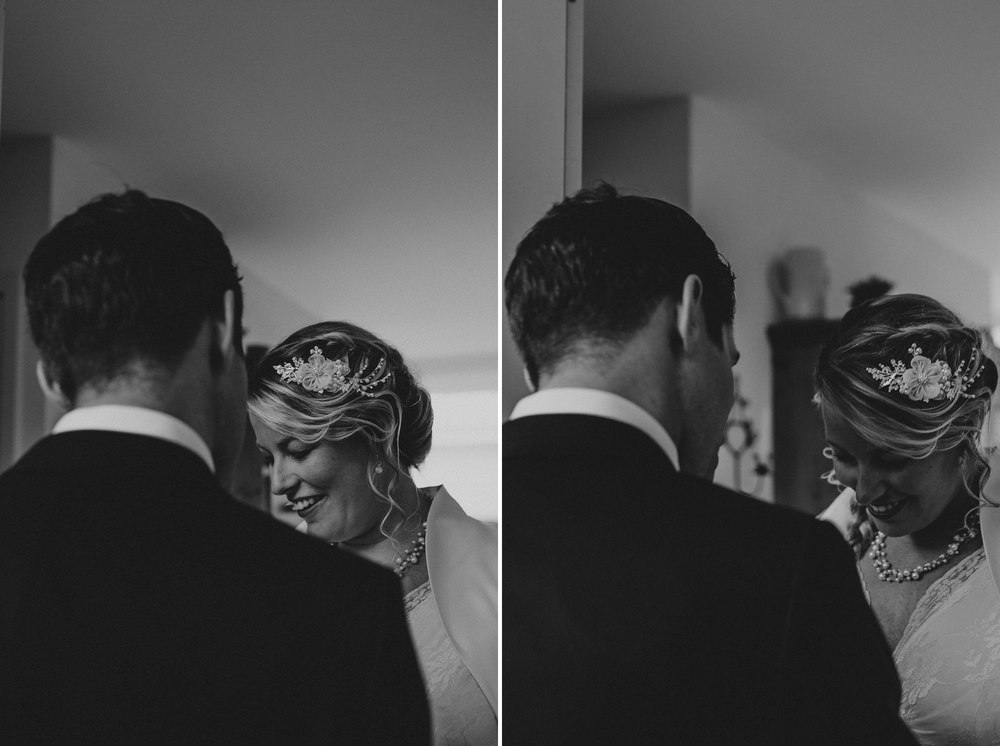 Bruidsfotografie Amsterdam - First Look