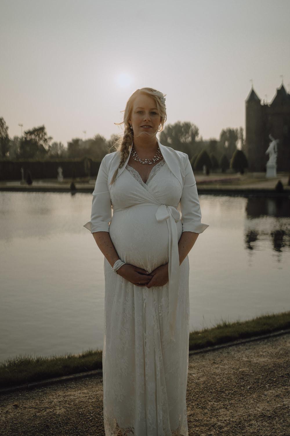 bruidsfotograaf amsterdam zwanger bruid