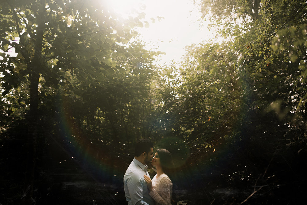 loveshoot bruidsfotografie amsterdam couple sunset vondelpark by mark hadden