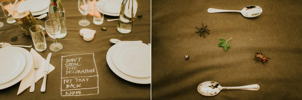 wedding decoration details photography