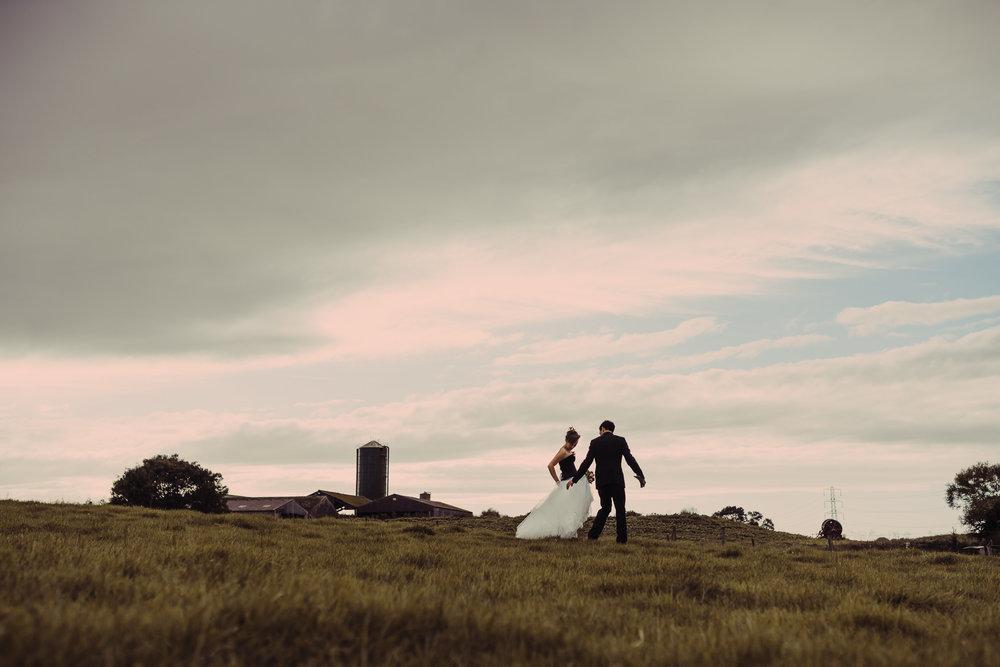 bruidsfotografie amsterdam prachtige landschap
